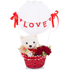 Love Baloon With Roses, Teddy And Chocolates TEDDY at Kapruka Online