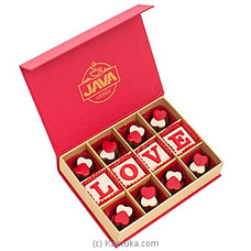 Java Love You 12 Piece Orange Caramel Chocolate Box at Kapruka Online
