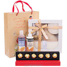 Love Me Tender - Bath Essentials With Ferrero Chocolatesat Kapruka Online for specialGifts