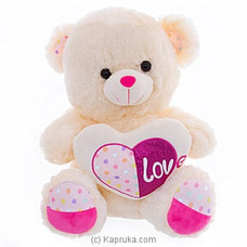 Honeypot Heart Teddy By Huggables at Kapruka Online for specialGifts