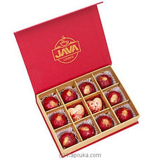 Java Hazelnut Praline Hearts 12 Piece Chocolate Box ANNIVERSARY,FORHIM at Kapruka Online