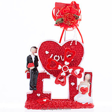 Just Married Couple Ornament VALENTINE at Kapruka Online