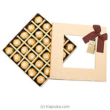 Choco Decker 25 Piece Ferrero Chocolate Box By NA at Kapruka Online for specialGifts