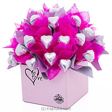 Java Pink Heart Desire Chocolate Gift Box at Kapruka Online