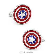 Captain America Cufflinks By Limited Edition at Kapruka Online for specialGifts