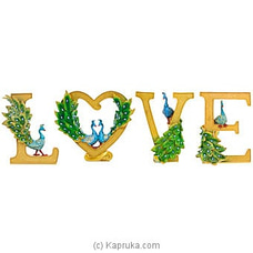 `LOVE` Home Décor Ornament By Habitat Accent at Kapruka Online for specialGifts