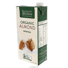 Australian Own Organic Almond Milk 1L By Australia`s Own|Globalfoods at Kapruka Online for specialGifts