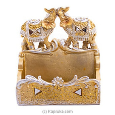 Classic Ehephant Card Holder By Habitat Accent at Kapruka Online for specialGifts
