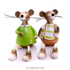Mr And Mrs Jerry Home Decor Ornament at Kapruka Online