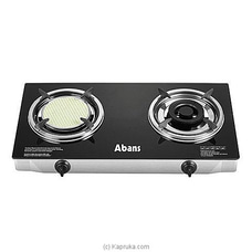 Abans Signature Infrared Glass Top Gas Cooker ABSGCKTT2300I at Kapruka Online