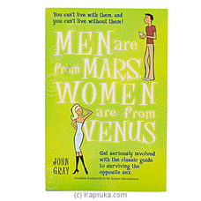 Men Are From Mars Women Are From Venus By M D Gunasena at Kapruka Online for specialGifts
