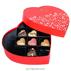 Shangri-La Chocolate Heart Gift Box By Shangri La at Kapruka Online for specialGifts