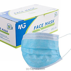 Medical Disposable Face Mask - 50 Mask Pack By NA at Kapruka Online for specialGifts