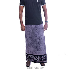 Gray and black mixed Sarong By  Islandlux at Kapruka Online for specialGifts