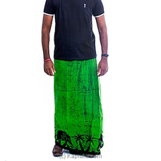 Green and black mixed sarong By  Islandlux at Kapruka Online for specialGifts