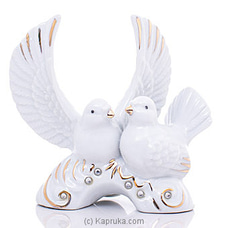 Pigeon Couple Ornament By Habitat Accent at Kapruka Online for specialGifts