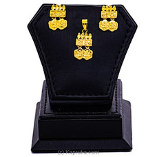 Gold Plated Earring - Pendent Set - GP925 at Kapruka Online
