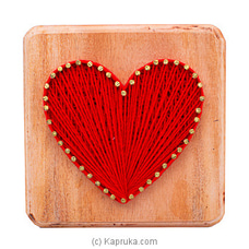 Heart Shape String Art By NA at Kapruka Online for specialGifts