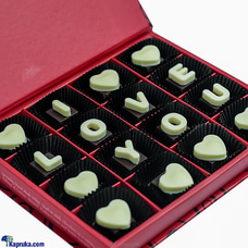 Galadari Gift Of Love Box Of Chocolates 16 Piece (L) By Galadari at Kapruka Online for specialGifts
