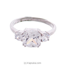 Cubic Zirconia Ring Sr601 at Kapruka Online
