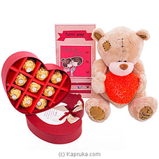 Perfect You Gift Pack By Ferrero Rocher|Huggables at Kapruka Online for specialGifts