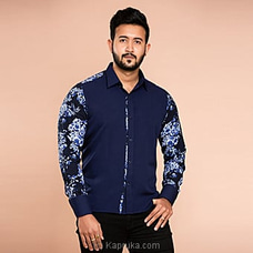 Gents shirt with floral printed panels -CH 025 By CH Glamstore at Kapruka Online for specialGifts