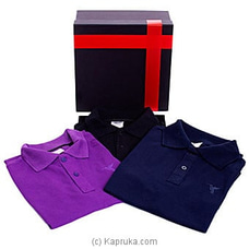 Lush Polo T Shirt 3packat Kapruka Online for specialGifts