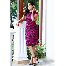 Purple Bodycon Dress -2021021122 By Ample at Kapruka Online for specialGifts