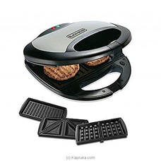 Black - Decker 3 in 1 Sandwich Grill and Waffle Maker By Black - Decker at Kapruka Online for specialGifts