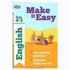 Letts Make It Easy- English Age 4-5 By Big Bad Wolf at Kapruka Online for specialGifts