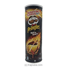 Pringles Hot And Spicy Large (165g) at Kapruka Online