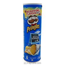 Pringles Salt And Vinegar -Large (165g) at Kapruka Online