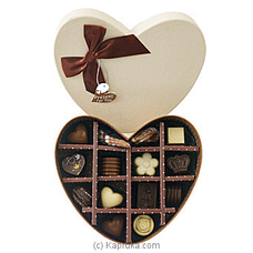 14 Piece Chocolate Box- Brown Heart(GMC) By GMC at Kapruka Online for specialGifts