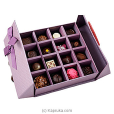 16 Piece Chocolate Box Purple Square (GMC) By GMC at Kapruka Online for specialGifts