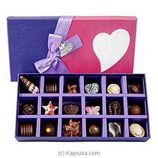 18 Piece Chocolate Box-Purple Rectangle (GMC) By GMC at Kapruka Online for specialGifts