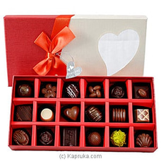 18  Piece Chocolate Box- Red Rectangle (GMC) By GMC at Kapruka Online for specialGifts