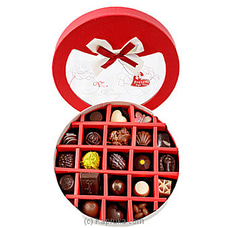 21 Piece Chocolate Box- Red Circle (GMC) By GMC at Kapruka Online for specialGifts