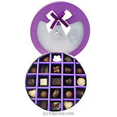 21 Piece Chocolate Box- Purple Circle (GMC) By GMC at Kapruka Online for specialGifts