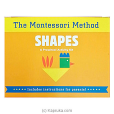 The Montessori Method - Shapes (Kit) By Big Bad Wolf at Kapruka Online for specialGifts