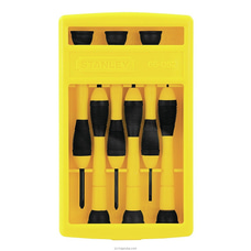 Stanley Screw Driver SET PRECISION BI- MAT/6PC OGS-STHT66052-8 By Stanley at Kapruka Online for specialGifts