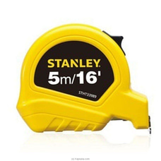 Stanley SHORT TAPE RULES 5M/16` X 19MM (ECO) OGS-STHT36127-812 By Stanley at Kapruka Online for specialGifts