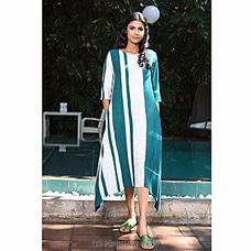 Stripe Batik Long Dress -3020963 By innovation at Kapruka Online for specialGifts