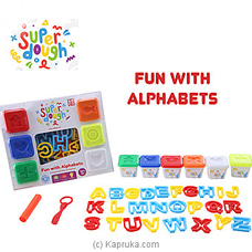 Super Dough- Numbers And Letters By Brightmind at Kapruka Online for specialGifts