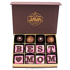 Java ` Best Mom` 12 Piece Chocolate Box By Java at Kapruka Online for specialGifts