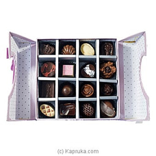 16 Piece Lavender Chocolate Square Box (GMC) By GMC at Kapruka Online for specialGifts