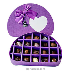 18 PIECE CHOCOLATE HALF CIRCLE PURPLE BOX (GMC) By GMC at Kapruka Online for specialGifts