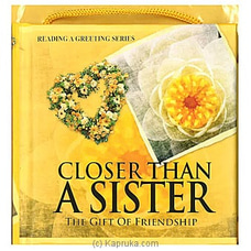 Closer Than A Sister: The Gift Of Friendship By Big Bad Wolf at Kapruka Online for specialGifts