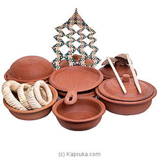 Healthy Clay Cookware Set By NA at Kapruka Online for specialGifts