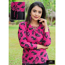 Criss Cross Strech Top -lt090007pink at Kapruka Online