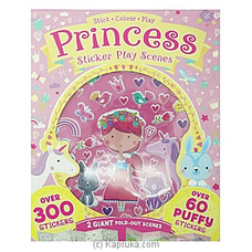 Princess Sticker Play Scenes at Kapruka Online